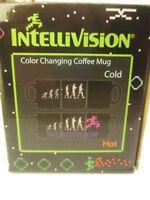 (NEW!) Intellivision Color Changing Coffee Mug - RARE - Evolution of Man