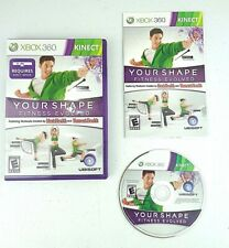 Your Shape Fitness Evolved  (Microsoft Xbox 360, 2010) Complete CIB
