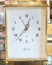 Vintage Helveco Eight Day Swiss Carriage Clock