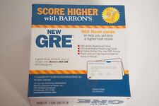 Barron's GRE Flash Cards 2nd Edition Test Exam Study Prep