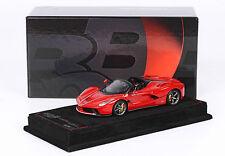 Ferrari LaFerrari Aperta 2016 Rosso Corsa 1/43 lim.ed.209 pcs BBRC187C1 BBR