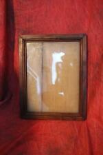 Superb 19th Century PA Walnut Fraktur/Watercolor Frame W/Original Glass & Back