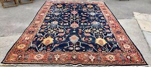 Vintage Large 10′ X 15' Bidjar Rug / Carpet