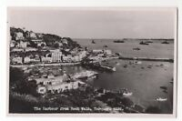 The Harbour From Rock Walk Torquay Devon 1950s RP Postcard Nigh 921b