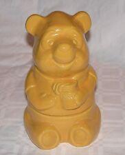 "Vintage walt Disney Authentic 'Winnie the Poo' 7"" x 5"" Jar, Container"