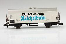 Fleischmann N Vagón Frigorífico Kulmbacher Suciedad/Arañazo - con Caja Orig.