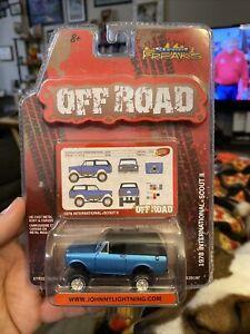 Street Freaks Off Road 1978 International Scout II Blue 1:64 2009 4x4