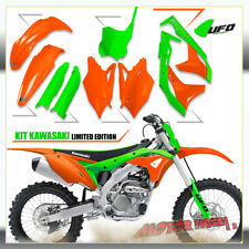 KIT PLASTICHE UFO PLAST KAWASAKI KXF 250 2019 LTD LIMITED EDITION + COPRISTELI