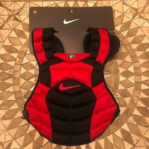 "Nike Georgia Bulldogs Baseball Chest Protector Size 16"" PBP543-020"