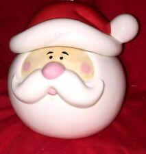 """Ceramic """"Santa"""" Cookie Jar (D)"""