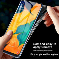 For Samsung A70 A50 A30 A40 M10 M20 M30 TPU Cover Silicon Clear Soft Case DE rr