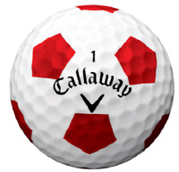 24 Callaway Chrome Soft Truvis Near Mint Used Golf Balls AAAA Free Shipping
