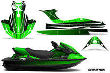 Jet Ski Graphics kit Decal for Kawasaki STX-15F 2003-2018 Geometrik Green Black