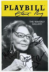 WAVERLY GALLERY Full Cast Lucas Hedges, Elaine May + Signed Playbill