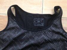 Neu Modisches Top Shirt v. ESPRIT mit PAiletten in schwarz Gr M extravagant