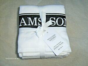 William Sonoma Logo Kitchen Towels Set of 4