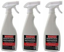 3x500 ml = 1,5 litre Détachant anti-taches de rouille Nettoyeur Anti entroster