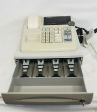 Casio Pcr 262 Electronic Cash Register Works Includes Key Money Machine