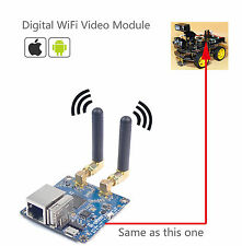 Arduino WiFi Video Robot Module
