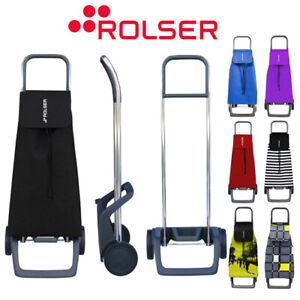 Rolser Jet Stylish Designer Lightweight 2 Wheel Shopping Trolley Folds Flat