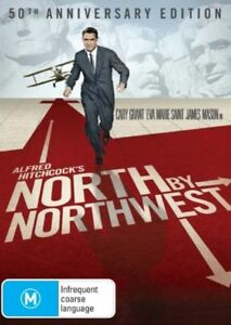 North By Northwest DVD RES 2-Discs Classy Cary Grant (except the train tunnel)