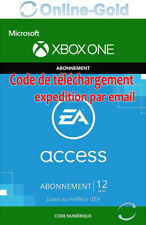 EA Access Xbox One 12 Mois Abonnement Clé - ORIGIN Membership Carte - [EU/FR]