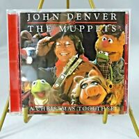Christmas CD John Denver and The Muppets A Christmas Together Laser Light 2002