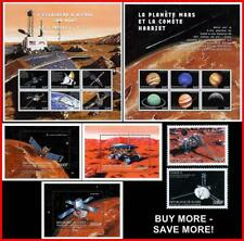 GUINEA 1999 SPACE CONQUEST + 3 S/S + 2 M/S MNH CV$54.00 ASTRONOMY