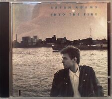 """Bryan Adams - Into The Fire (CD) Features """"Hearts On Fire"""" """"Heat Of The Night"""""""