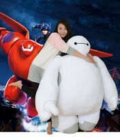 2020 White Big Hero 6 Baymax Robot Plush Stuffed Doll Toy Kid Birthday Xmas Gift