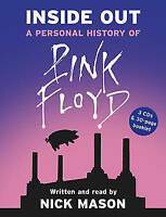 Inside Out: A Personal History of Pink Floyd by Nick Mason 3 CD-Audio, 2005 VGC