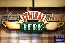 FRIENDS CENTRAL PERK WINDOW TV SHOW COFFEE SHOP Art Waterproof Poster 24x36Inch