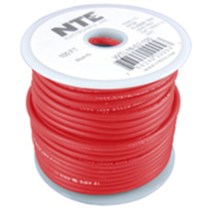 NTE Electronics WTL18-02-50 TEST LEAD 18 GAUGE RED STRANDED INSULATED 50'