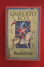 BAUDOLINO by UMBERTO ECO; Secker & Warburg (Hardcover/DJ, 2002)