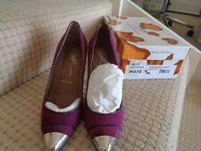 DONALD PLINER Raspberry/Purple Suede/Leather  Size 7M  BNIB