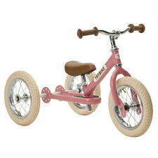 Trybike Steel 2-In-1 Tricycle and Balance Bike - Pink