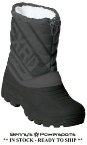 FXR Youth Octane Boot Kids Waterproof Winter Snow Snowmobile Boots