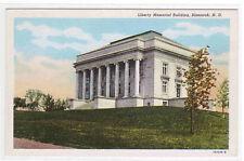 Liberty Memorial Bismarck North Dakota postcard