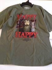 Duck Dynasty  Green Phil Happy T-Shirt NWT 14-16 Boys