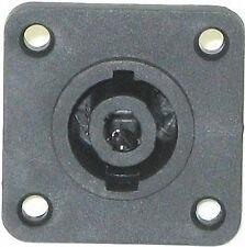 Pack of 4 Chassis Mount Speaker Loudspeaker Connector 4 Pin Socket