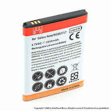 2600mah Battery for Samsung Galaxy Note SGH-i717 i9220 N7000 T879