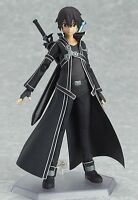 SAO Sword Art Online Kirigaya Kazuto Kirito Figma PVC Action Figure #174 In Box