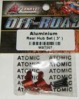 Atomic R/C Racing Products Alloy Rear Hub 3° Set For Losi 1/24 Micro SCT MST007