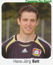 284 HANS-JORG BUTT GERMANY BAYER 04 LEVERKUSEN STICKER FUSSBALL 2007 PANINI