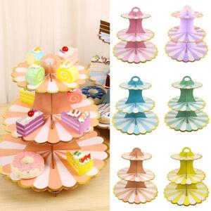 3-Tier Cupcake Stand Cupcake Display Holder Dessert Tower