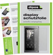 2x Sony Walkman NW-A35 Schutzfolie matt Displayschutzfolie Folie dipos