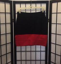 Romeo & Juliette Couture Designer Mini Bandage Skirt Womens Fashion Size Small