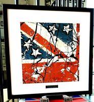 The Stone Roses-Framed Original Album Artwork-Edition-Certificate-Metal Plaque