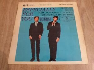 THE EVERLY BROTHERS - ESPECIALLY FOR YOU -  UK EP - VERY GOOD+ / VG ++
