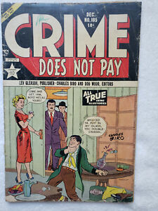 Crime Does Not Pay #105 (Dec. 1951, Lev Gleason) [GD+ 2.5]